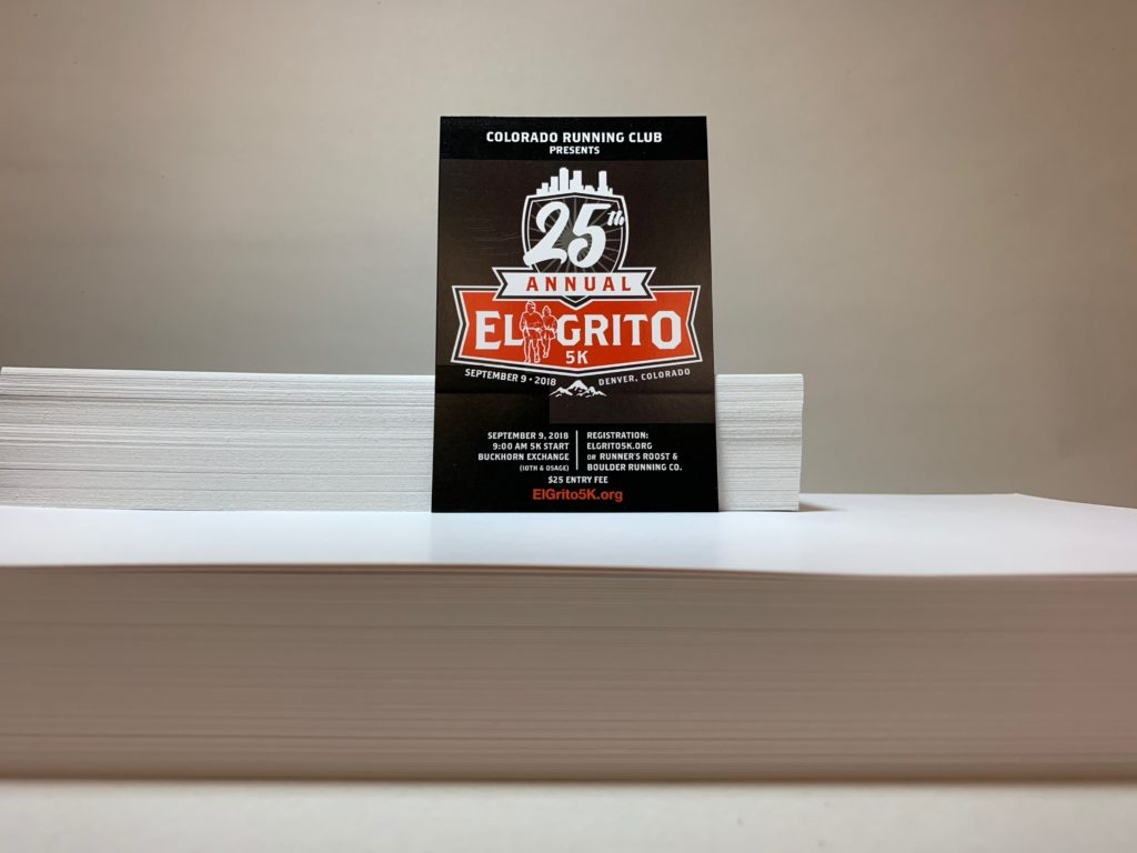 El Grito 5k - Promotional Card 2