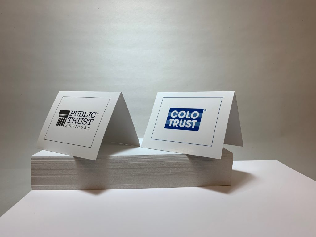 Public Trust Advisors - Folded Card 1
