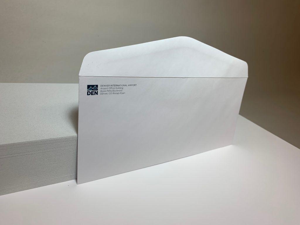 DIA - #10 Envelope 1