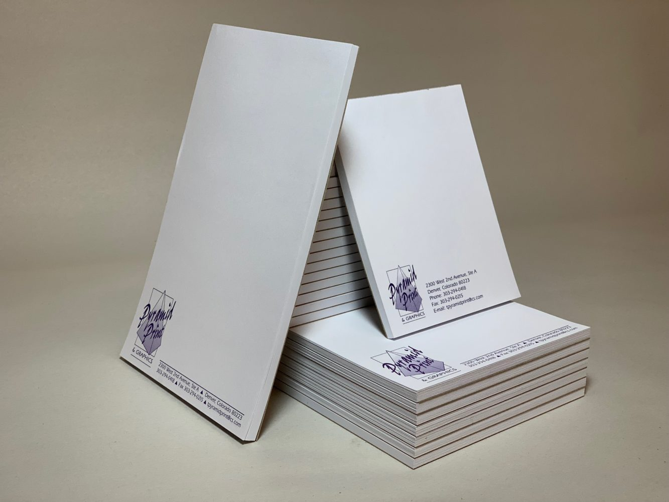 Pyramid Print and Graphics - Notepads 1