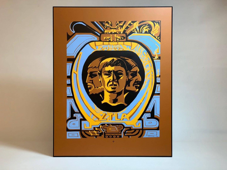 Wood-mounted Artwork - 3