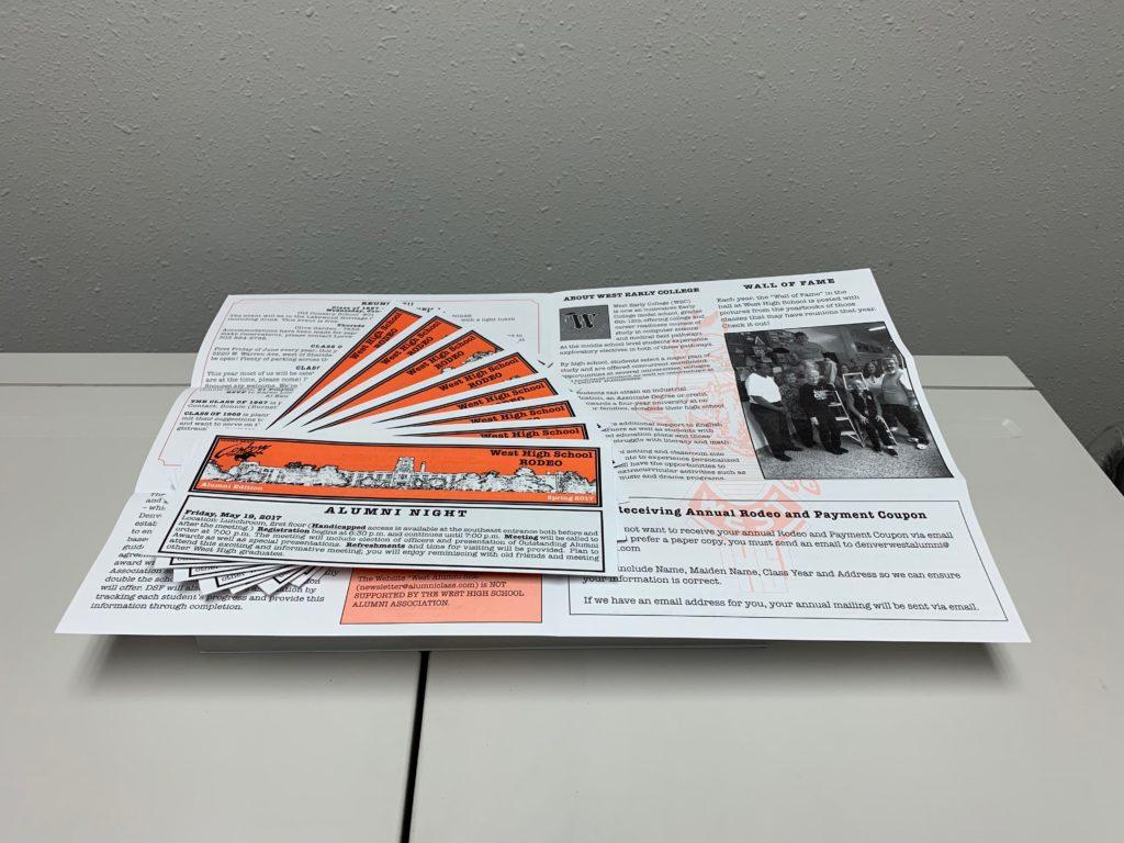 Double Tri-Folded Newsletter