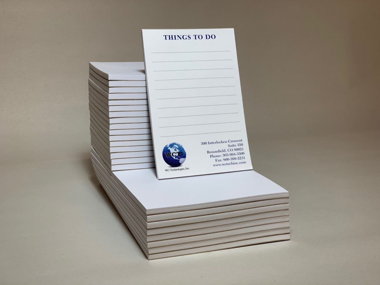 Branded Stationary Notepad