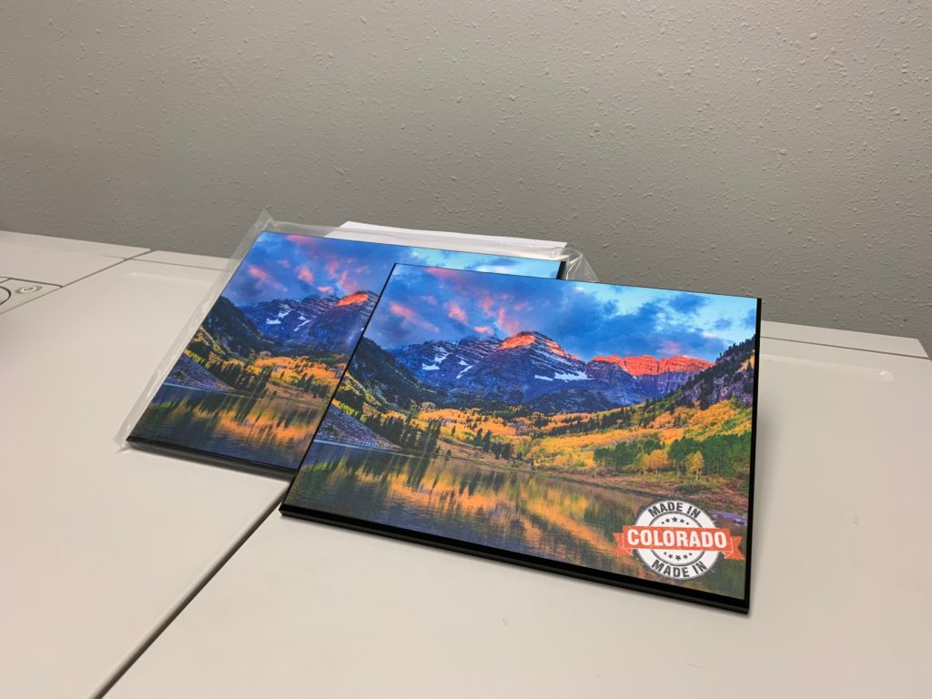 Colorado Nature Photograph Mounted On Wood