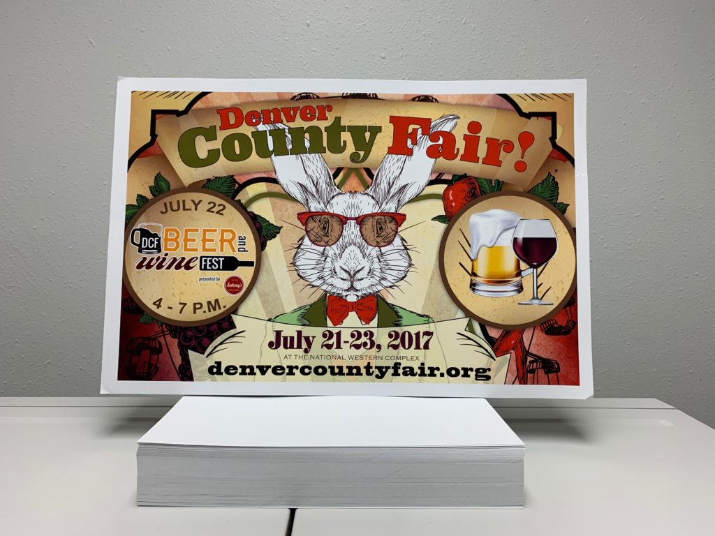 Denver County Fair Poster