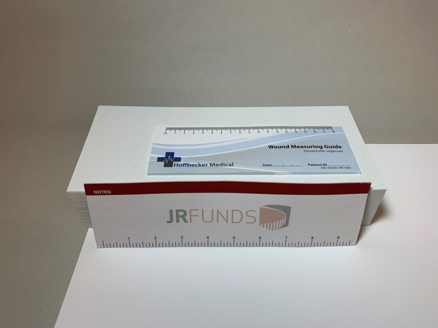 Measuring Ruler Post-It Notes