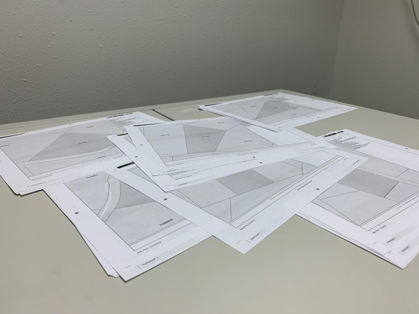 Technical Drawings - Maps